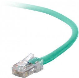 Belkin Cable Patch Cat5e UTP RJ-45 Macho - RJ-45 Macho, 2.4 Metros, Verde