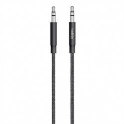 Belkin Cable MIXIT↑ 3.5mm Macho - 3.5mm Macho, 1.25 Metros, Negro