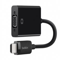 Belkin Adaptador HDMI Macho - VGA Hembra, 2.5 Metros, Negro