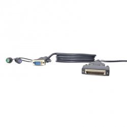 Belkin Cable KVM PS/2 OmniView, 3 Metros