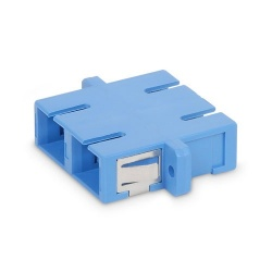 Belkin Conector Fibra Óptica SC Hembra, Dúplex, Azul