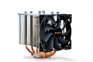 Disipador CPU be quiet! Shadow Rock 2, 120mm, 800-1600RPM, Negro/Plata