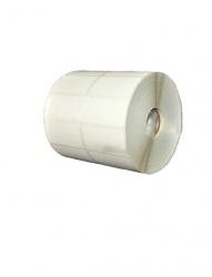 Bestval Rollo de Etiquetas 1000105, 51 x 25mm, 2 x 3550 Etiquetas, Blanco