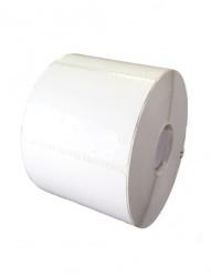 Bestval Rollo de Etiquetas 1000122, 54 x 25mm, 4 x 2365 Etiquetas, Blanco
