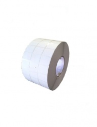Bestval Rollo de Etiquetas 1000130, 32 x 24mm, 1 x 16575 Etiquetas, Blanco