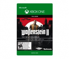 Wolfenstein II: The New Colossus Digital Deluxe Edition, Xbox One ― Producto Digital Descargable