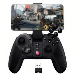 Binden Gamepad G4 PRO, Inalámbrico/Alámbrico, Bluetooth/USB, Negro