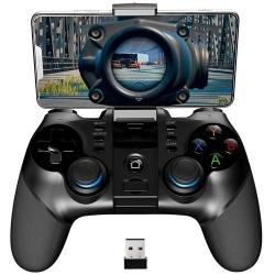 Binden Gamepad 9156, Inalámbrico, Bluetooth, Negro