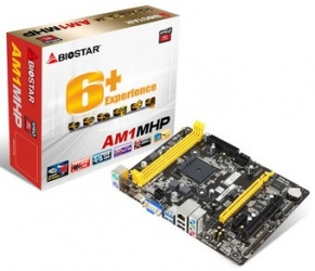 Tarjeta Madre Biostar micro AM1MHP, S-AM1, HDMI, 16GB DDR3, para AMD