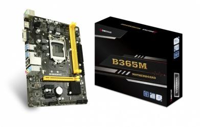 Tarjeta Madre Biostar micro ATX B365MHC, S-1151, Intel B365, HDMI, 32GB DDR4 para Intel