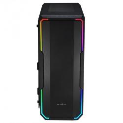 Gabinete BitFenix ENSO con Ventana RGB, Tower, ATX/EATX/Micro ATX/Mini-ITX, USB 3.2, sin Fuente, Negro