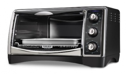 Black decker horno de convecci n cto4400b 1500w negro for Horno electrico black decker