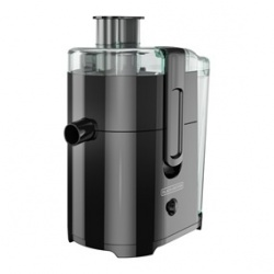 Black & Decker Extractor de Jugos JE2400BD, 0.83 Litros, 400W, Negro