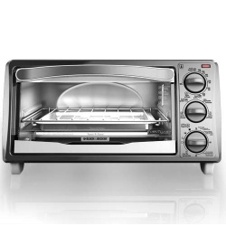 Black decker horno el ctrico even toast to1313swd 1500w for Horno electrico black decker