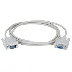 Black Box Cable Serial DB9 Macho - DB9 Hembra, 1.8 Metros, Blanco