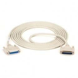 Black Box Cable Serial DB25 Macho - DB25 Hembra, 4.5 Metros, Beige