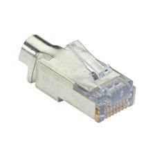 Black Box Conector Blindado Cat6, RJ-45, 100 Piezas