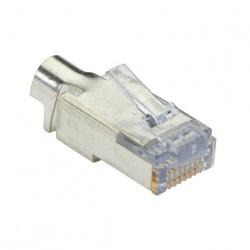 Black Box Conector Blindado Cat6, RJ-45, 25 Piezas