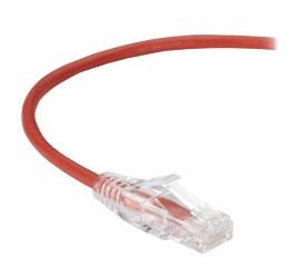 Black Box Cable Patch Cat6 UTP sin Enganches RJ-45 Macho - RJ-45 Macho, 3.6 Metros, Rojo