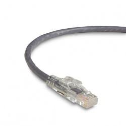 Black Box Cable Patch Cat6 UTP sin Enganches RJ-45 Macho - RJ-45 Macho, 90cm, Gris