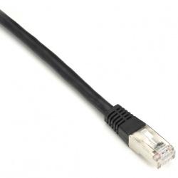 Black Box Cable Patch Cat6 FTP Moldeado RJ-45 Macho - RJ-45 Macho, 60cm, Negro