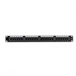 Black Box Cable Patch Cat5e UTP de 24 Puertos, 1U, Negro