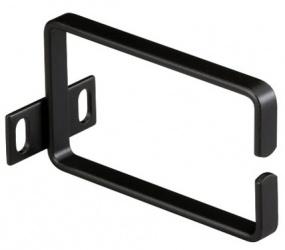Black Box Anillo de Soporte para Montaje en Rack, 1U, Negro
