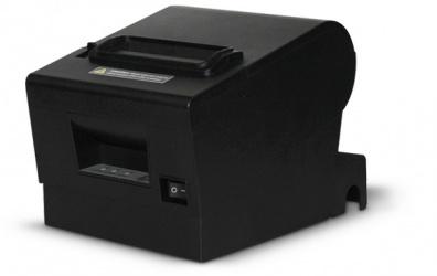 Black Ecco BE200, Impresora de Tickets, Térmica Directa, Alámbrico, USB + Serial, Negro