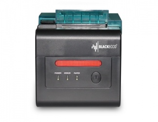 Black Ecco BE300E, Impresora de Tickets, Térmica Directa, Inalámbrico/Alámbrico, Negro