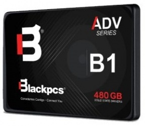 SSD Blackpcs AS2O1, 480GB, SATA III, 2.5'', 7mm