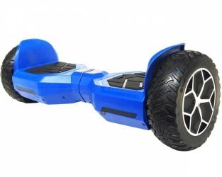 Blackpcs Hoverboard Eléctrico M408, 10 km/h, hasta 120kg, Negro/Azul