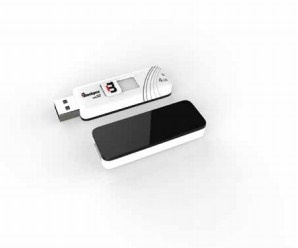 Memoria USB Blackpcs MU2101, 32GB, USB 2.0, Blanco