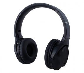 Blux Audifonos DJ AP-078, Bluetooth, Inalámbrico, Negro