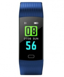 Blux Smartwatch H1108A, Touch, Bluetooth, Android/iOS, Azul