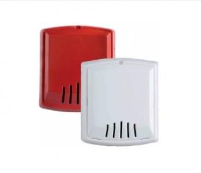 Bosch Sirena de Pared W-HNR, Alámbrico, 12 - 24V, Rojo