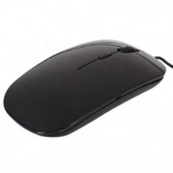 Mouse BRobotix Óptico 005055, Alámbrico, USB, Negro