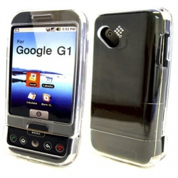 BRobotix Funda 011338 para HTC, Transparente, Resistente a Rayones/Golpes/Salpicaduras