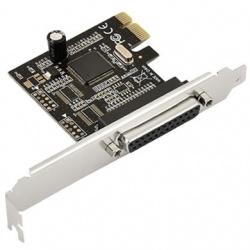 BRobotix Tarjeta PCI Express 041255, 1 Puerto Paralelo