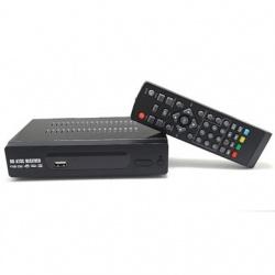 BRobotix Decodificador Digital ATSC, Full HD, Negro
