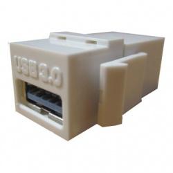 BRobotix Adaptador USB 3.0 Hembra - USB 3.0 Hembra