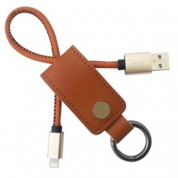 BRobotix Cable 161214C Lightning Macho - USB Macho, 25cm, Café