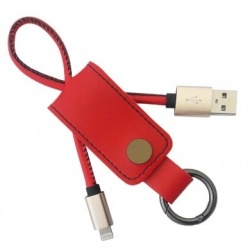 BRobotix Cable 161214R Lightning Macho - USB Macho, 25cm, Rojo