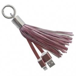 BRobotix Cable 161234P Lightning Macho - USB Macho, 20cm, Rosa