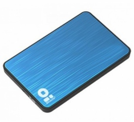 "BRobotix Gabinete para Disco Duro 170602-2, SATA 2.5"", Azul"