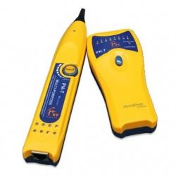 BRobotix Probador de Cables 179805, BNC/RJ-45/USB, Amarillo