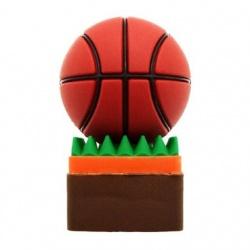 Memoria USB BRobotix 180300-31, 16GB, USB 2.0, Balón de Basketball