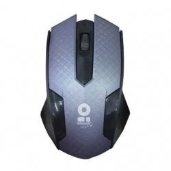 Mouse BRobotix Óptico 180419-2 Alámbrico, USB, 1000DPI, Negro/Gris
