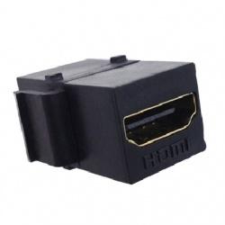 BRobotix Adaptador HDMI Hembra - HDMI Hembra, Negro