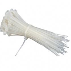 BRobotix Cintillo de Nylon 057741, 35cm, Blanco, 250 Piezas