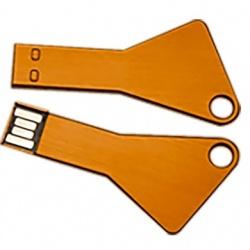 Memoria USB BRobotix 207740, 16GB, USB 2.0, Amarillo